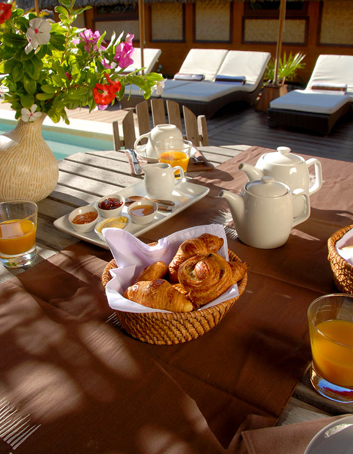 Breakfast Greenlodge Moorea